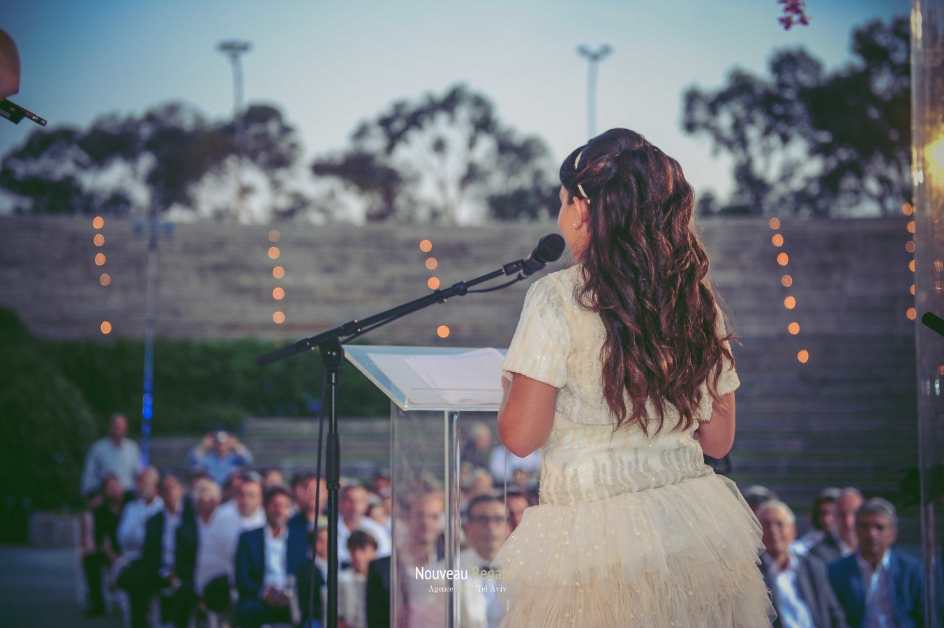 From Eden's perspective at her barmitzvah