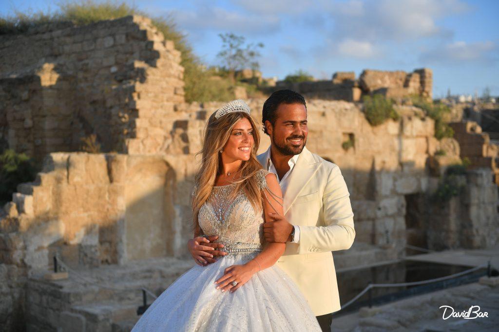 Wedding at a Roman ruin