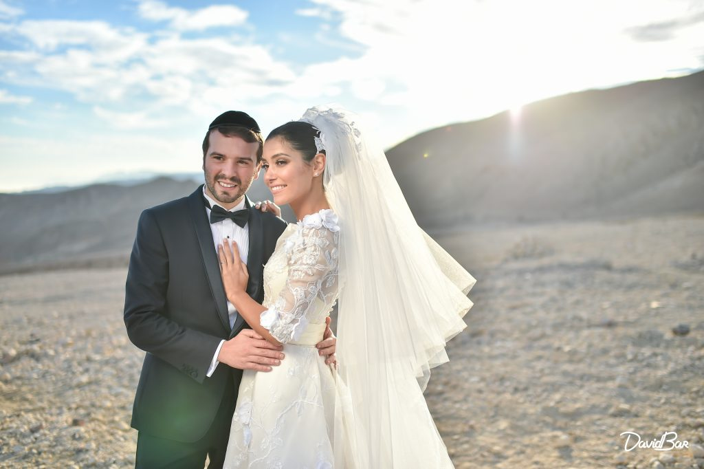 Newlyweds in Israel