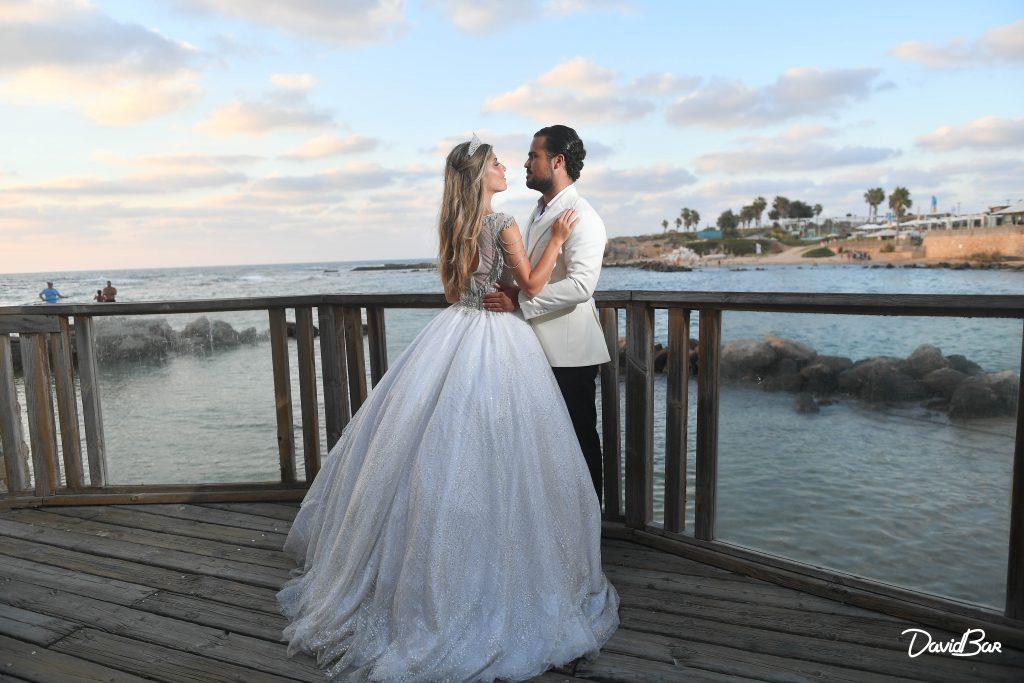Bride and Groom in Caesaria, Israel